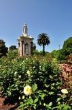 Jardín del monumento de la reina Victoria foto de archivo libre de regalías