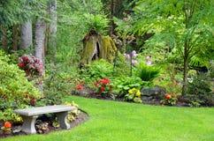 Jardín del noroeste pacífico Fotos de archivo