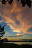Jardín del oeste del lago Kampar Imagen de archivo