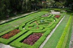 Jardín del palacio Fotos de archivo
