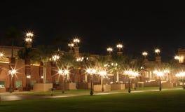 Jardín del palacio de los emiratos. Abu Dhabi Fotografía de archivo