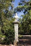 Jardín del palacio de Oeiras Imágenes de archivo libres de regalías