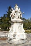 Jardín del palacio de Oeiras Foto de archivo
