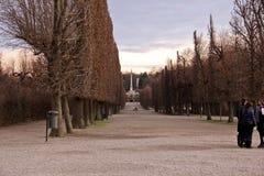 Jardín del palacio de Schoenbrunn, Austria Imagenes de archivo