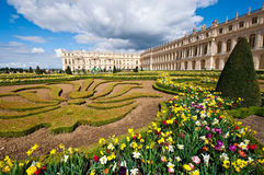 Jardín del palacio de Versalles imágenes de archivo libres de regalías