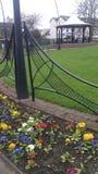 Jardín del parque Foto de archivo