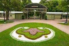 Jardín del parque de Ronneby Fotos de archivo