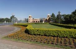 Jardín del parque de Tangua Imagen de archivo