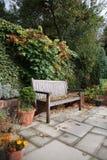 Jardín del patio foto de archivo