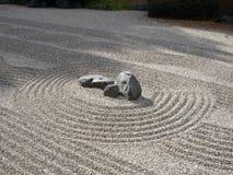 Jardín del zen Imagenes de archivo