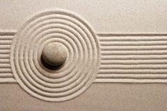 Jardín del zen imagen de archivo