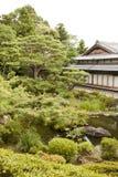 Jardín del zen de Yoshikien Fotografía de archivo