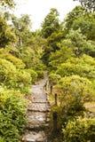 Jardín del zen de Yoshikien Imagen de archivo libre de regalías