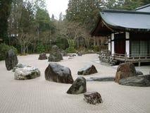 Jardín del zen en Koya-san Fotos de archivo
