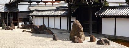 Jardín del zen en Kyoto Fotografía de archivo libre de regalías