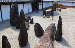 Jardín del zen en Kyoto Imagenes de archivo
