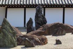 Jardín del zen en Kyoto Fotografía de archivo