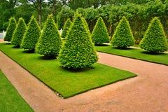 Jardín delantero del castillo Gunebbo Imagenes de archivo