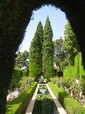 Jardín en Alhambra Fotos de archivo