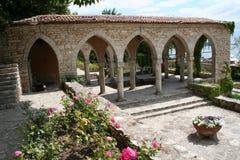 Jardín en Balchik, Bulgaria del mar Imágenes de archivo libres de regalías