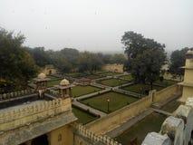 Jardín en el kota Rajasthán Fotos de archivo