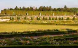 Jardín en el palacio de Versalles, Francia Imagen de archivo
