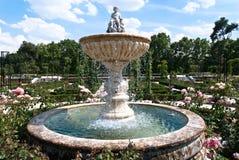 Jardín en el parque de Buen Retiro de Madrid Fotos de archivo