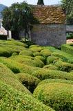 Jardín en Francia Imagen de archivo