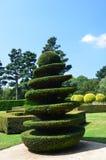 Jardín en Francia en julio de 2014 Imagenes de archivo