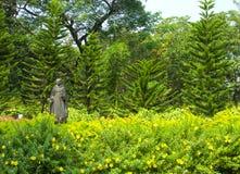 Jardín en Goa viejo Imágenes de archivo libres de regalías