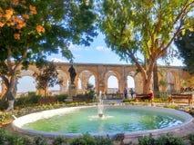 Jardín en Malta Imágenes de archivo libres de regalías