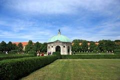 Jardín en Munich Foto de archivo