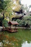 Jardín en otoño foto de archivo libre de regalías