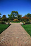 Jardín en otoño Imagen de archivo