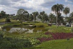Jardín en Pampulha Fotos de archivo libres de regalías