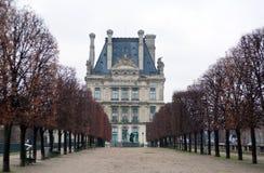 Jardín en París fotos de archivo