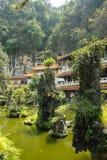 Jardín en Sam Poh Tong Imagenes de archivo