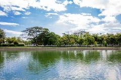 Jardín en Tailandia Fotos de archivo libres de regalías