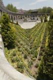 Jardín en Toluca céntrico Imágenes de archivo libres de regalías
