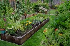 Jardín en un jardín Foto de archivo libre de regalías
