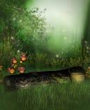Jardín encantado libre illustration