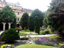 Jardín español Foto de archivo