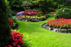 Jardín formal Fotos de archivo libres de regalías