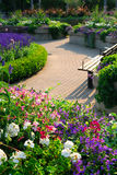 Jardín formal fotografía de archivo