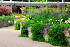 Jardín formal foto de archivo