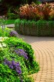 Jardín formal Fotografía de archivo libre de regalías