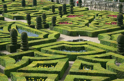 Jardín formal francés Imagenes de archivo