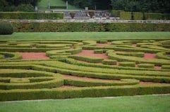 Jardín francés Imagen de archivo libre de regalías