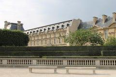 Jardín francés Fotografía de archivo