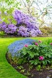 Jardín hermoso, botánico en primavera Fotografía de archivo